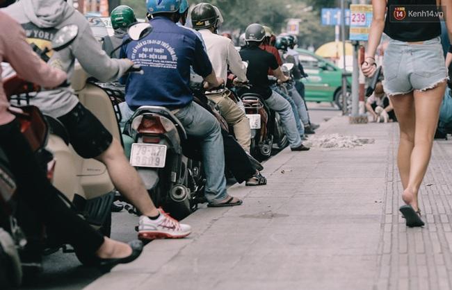 Phát điên, ngộp thở vì cảnh giờ nào cũng kẹt xe, chỗ nào cũng kẹt xe ở Sài Gòn - Ảnh 5.