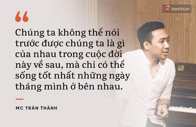 Từ mối tình từng bị ghét bỏ Trấn Thành - Hari Won, học cách làm chỗ dựa cho người mình yêu cả khi thế giới - Ảnh 5.