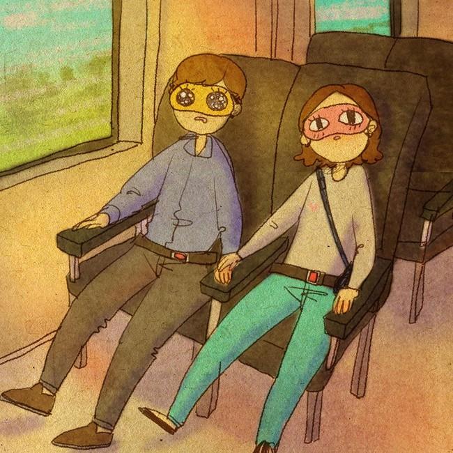 Yêu nhau đôi khi chỉ là làm những việc chẳng liên quan trong lúc ở bên nhau, miễn là cả hai đều vui vẻ - Ảnh 6.
