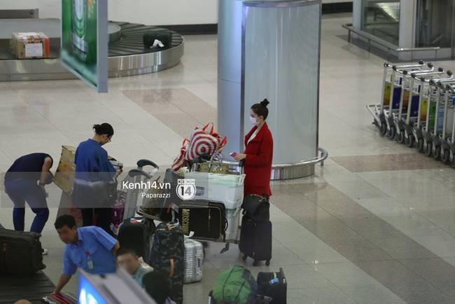 Ngọc Trinh gặp rắc rối với hành lý khi vừa về tới Việt Nam - Ảnh 5.