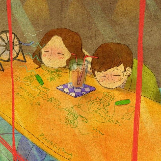 Yêu nhau đôi khi chỉ là làm những việc chẳng liên quan trong lúc ở bên nhau, miễn là cả hai đều vui vẻ - Ảnh 7.