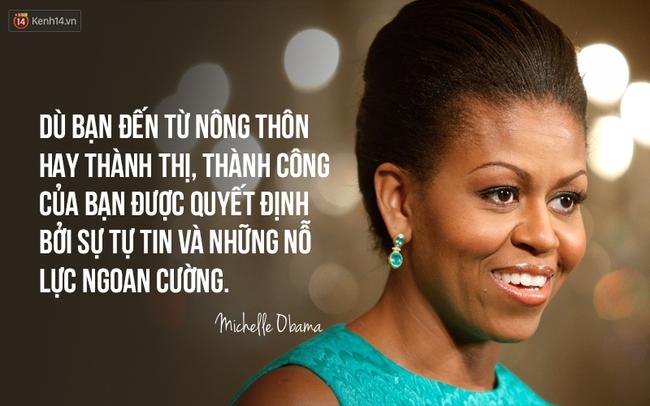 10 câu nói nổi tiếng của bà Michelle Obama truyền cảm hứng cho phụ nữ trên toàn thế giới - Ảnh 4.
