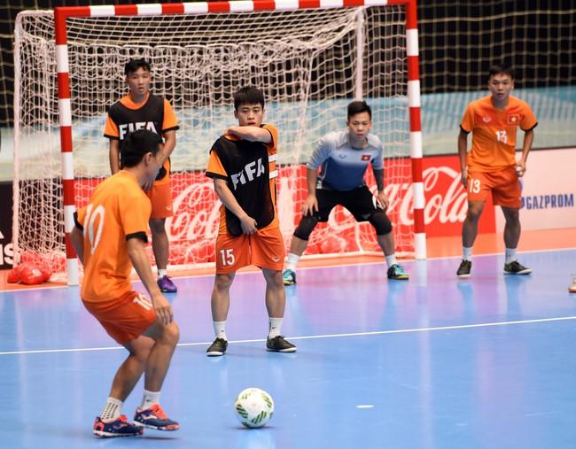 Tuyển futsal Việt Nam tự tin đánh bại đội bóng số 3 thế giới ở vòng 1/8 World Cup - Ảnh 8.