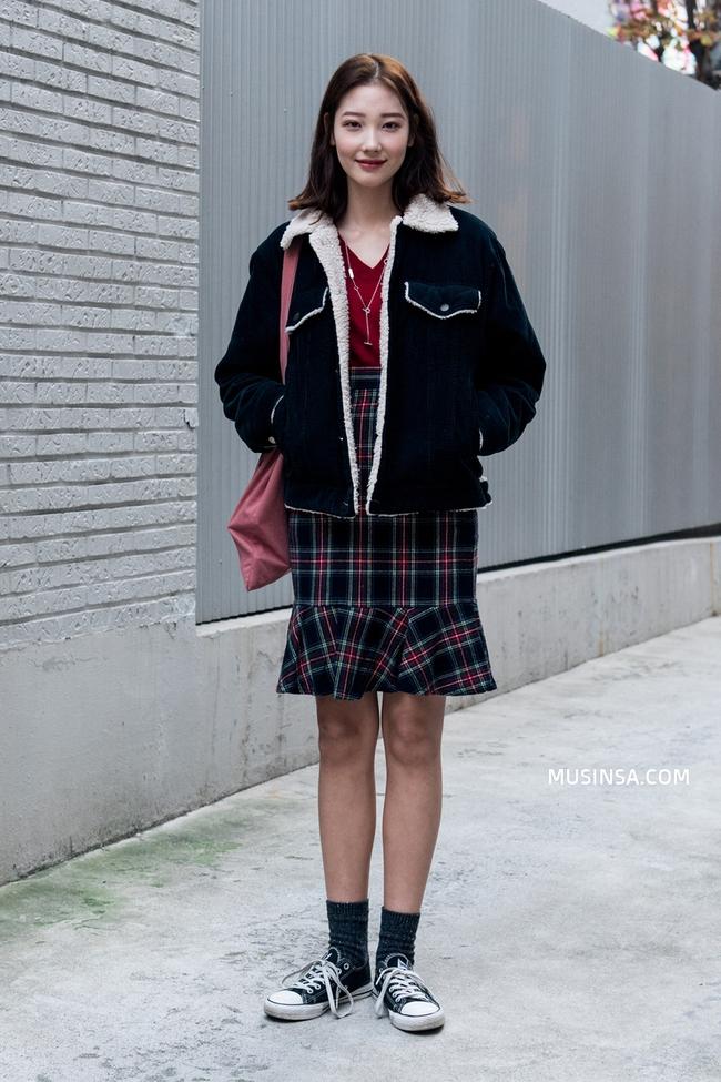 Street style mùa lạnh đẹp xuất sắc của giới trẻ thế giới