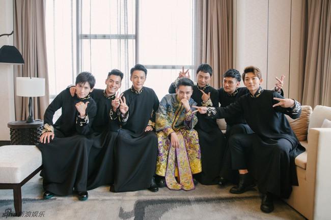 Những hình ảnh đẹp ngây ngất của đám cưới Trần Hiểu - Trần Nghiên Hy - Ảnh 4.