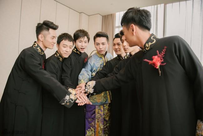 Những hình ảnh đẹp ngây ngất của đám cưới Trần Hiểu - Trần Nghiên Hy - Ảnh 5.