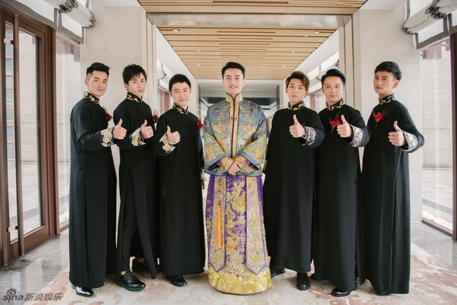 Những hình ảnh đẹp ngây ngất của đám cưới Trần Hiểu - Trần Nghiên Hy - Ảnh 6.