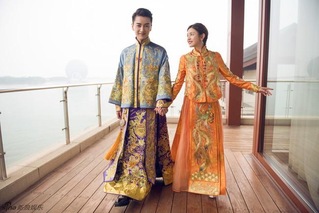 Những hình ảnh đẹp ngây ngất của đám cưới Trần Hiểu - Trần Nghiên Hy - Ảnh 3.