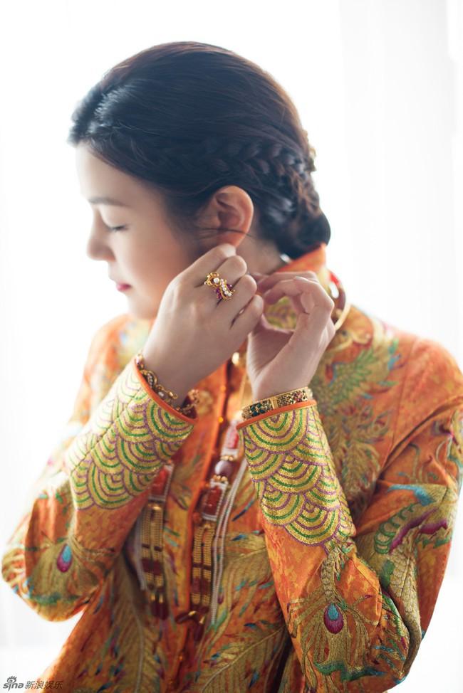 Những hình ảnh đẹp ngây ngất của đám cưới Trần Hiểu - Trần Nghiên Hy - Ảnh 11.