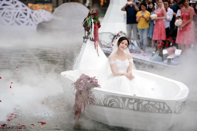 Những hình ảnh đẹp ngây ngất của đám cưới Trần Hiểu - Trần Nghiên Hy - Ảnh 40.