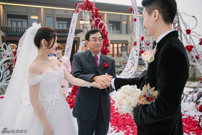Những hình ảnh đẹp ngây ngất của đám cưới Trần Hiểu - Trần Nghiên Hy - Ảnh 41.