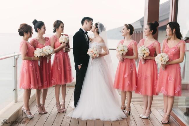 Những hình ảnh đẹp ngây ngất của đám cưới Trần Hiểu - Trần Nghiên Hy - Ảnh 33.