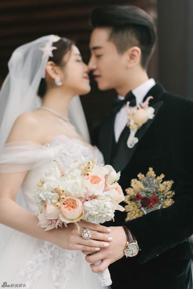 Những hình ảnh đẹp ngây ngất của đám cưới Trần Hiểu - Trần Nghiên Hy - Ảnh 34.