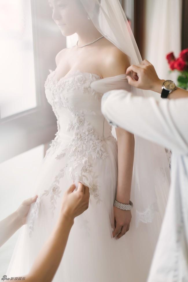 Những hình ảnh đẹp ngây ngất của đám cưới Trần Hiểu - Trần Nghiên Hy - Ảnh 35.