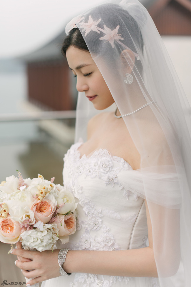 Những hình ảnh đẹp ngây ngất của đám cưới Trần Hiểu - Trần Nghiên Hy - Ảnh 36.