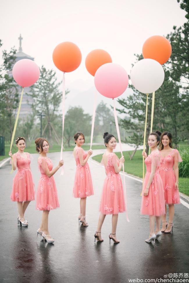 Những hình ảnh đẹp ngây ngất của đám cưới Trần Hiểu - Trần Nghiên Hy - Ảnh 7.