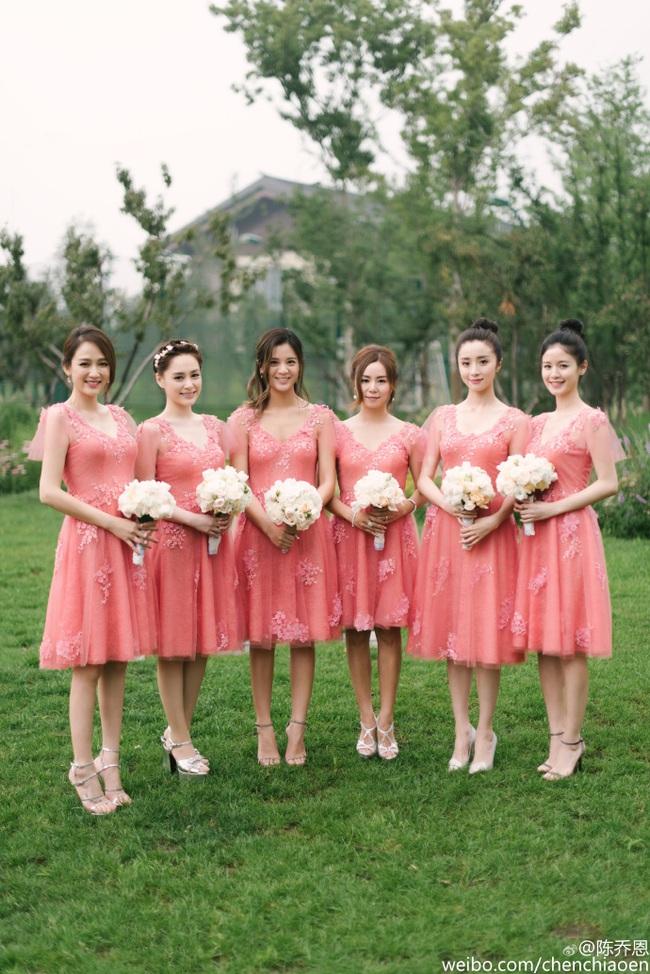 Những hình ảnh đẹp ngây ngất của đám cưới Trần Hiểu - Trần Nghiên Hy - Ảnh 8.