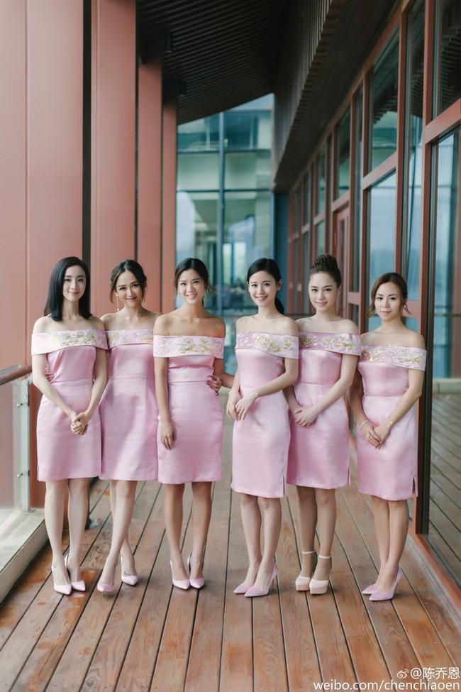 Những hình ảnh đẹp ngây ngất của đám cưới Trần Hiểu - Trần Nghiên Hy - Ảnh 9.
