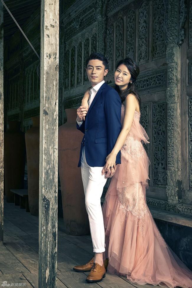 Bộ ảnh cưới đẹp như mơ của cặp đôi Lâm Tâm Như - Hoắc Kiến Hoa