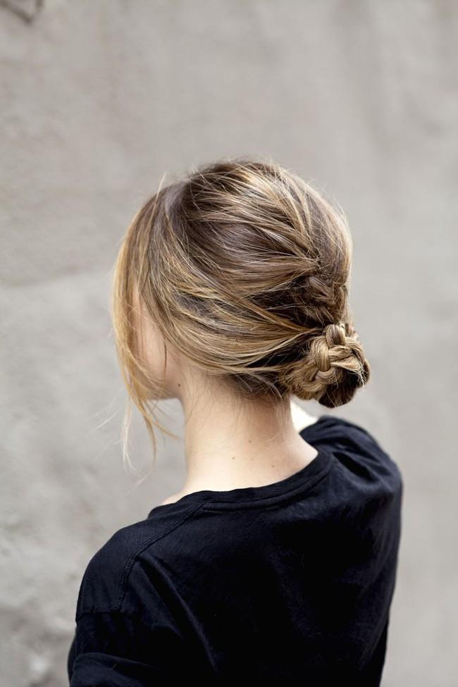 14 biến tấu tóc búi xinh xắn giải nhiệt cho ngày nắng nóng - Ảnh 8.