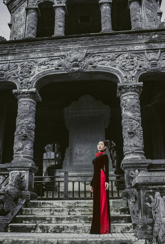 Lệ Quyên hoá gái Huế dịu dàng trong album nhạc Lam Phương - Ảnh 2.