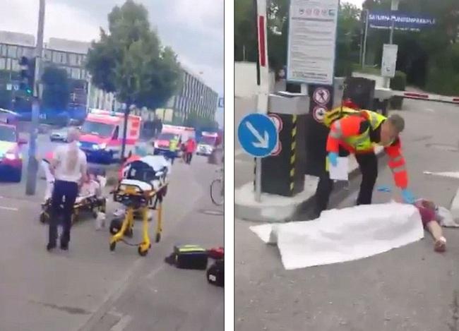 Đức: Xả súng tại trung tâm thương mại thành phố Munich, ít nhất 6 người chết - Ảnh 4.