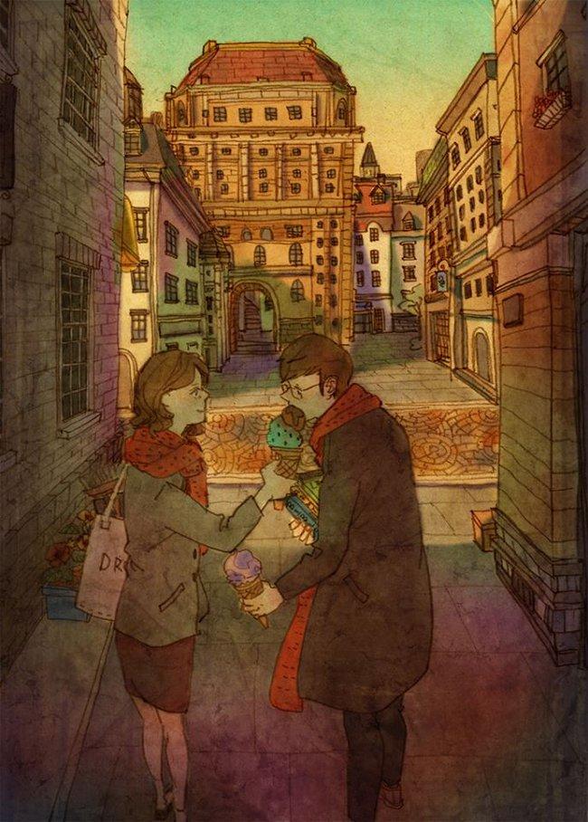 Yêu nhau đôi khi chỉ là làm những việc chẳng liên quan trong lúc ở bên nhau, miễn là cả hai đều vui vẻ - Ảnh 9.