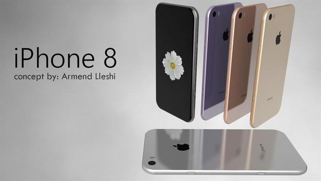 Nếu iPhone 8 đẹp mê hồn như này, nó sẽ bán đắt hơn tôm tươi - Ảnh 1.