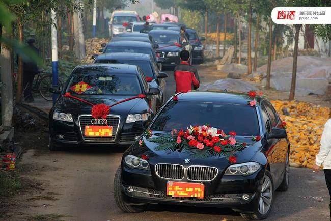 Những đám cưới toàn vàng ròng ở Trung Quốc luôn khiến người ta phải choáng ngợp - ảnh 9