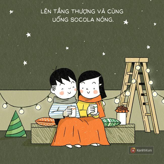 10 điều mà cặp đôi nào cũng nên làm trong đêm Giáng Sinh, còn không thì thà độc thân cho rồi! - Ảnh 9.