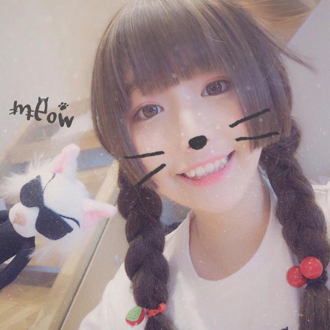 Cô bạn Trung Quốc với nụ cười răng khểnh xinh chả khác gì búp bê - Ảnh 12.
