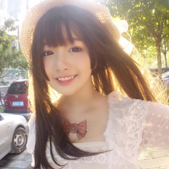 Cô bạn Trung Quốc với nụ cười răng khểnh xinh chả khác gì búp bê - Ảnh 7.
