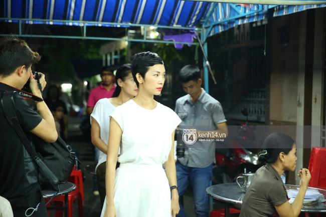Cập nhật: Sao Việt đau buồn đến viếng tang lễ nghệ sĩ Minh Thuận - Ảnh 4.