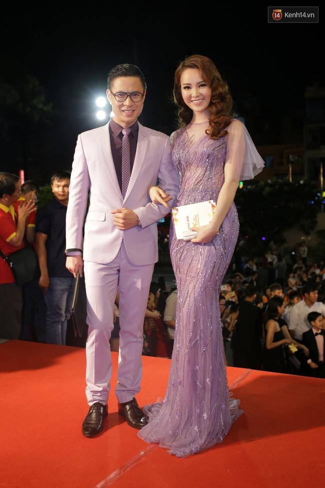 Dàn sao Việt diện váy áo lộng lẫy trên thảm đỏ VTV Awards 2016 - Ảnh 8.