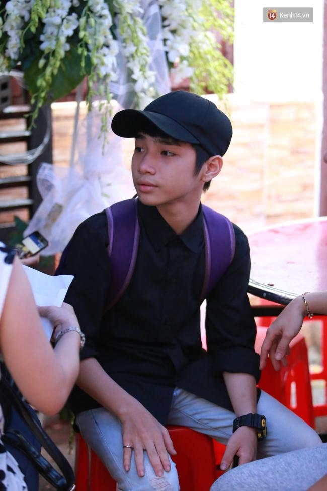 Nghệ sĩ Hoài Linh, Quang Vinh và sao Việt viếng lễ tang của Minh Thuận ngày cuối - Ảnh 21.