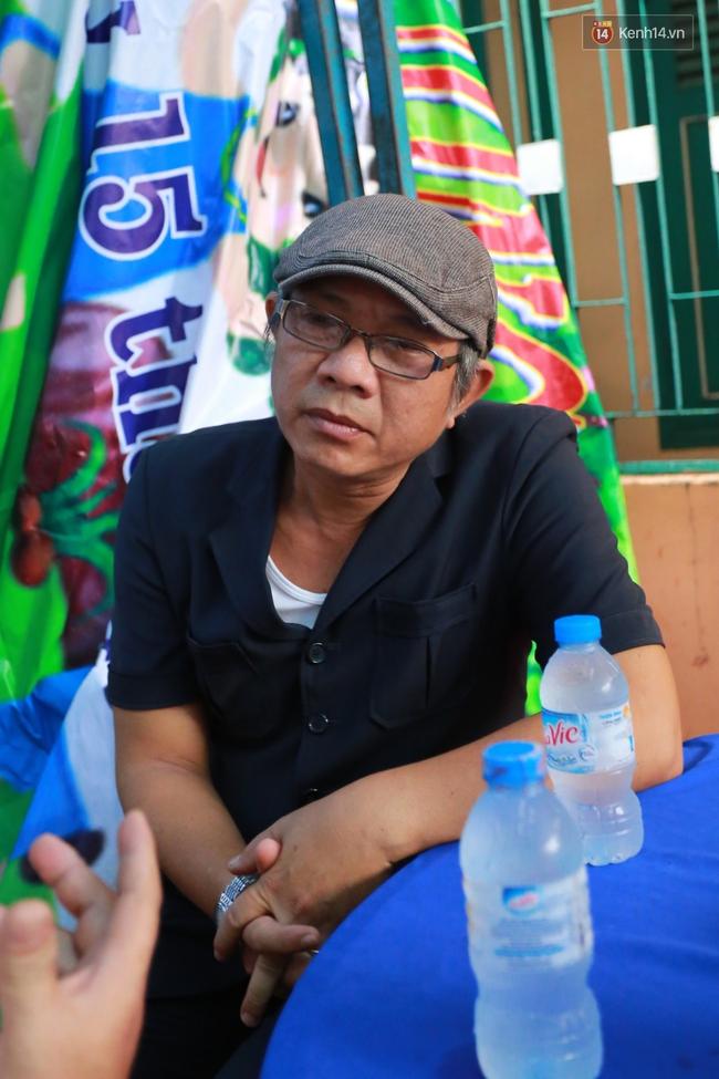 Nghệ sĩ Hoài Linh, Quang Vinh và sao Việt viếng lễ tang của Minh Thuận ngày cuối - Ảnh 14.