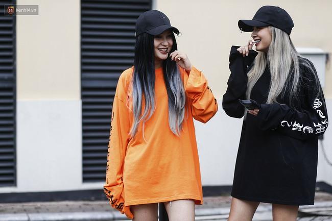 Street style chất chẳng kém thế giới của Hà Nội & Sài Gòn - Ảnh 2.