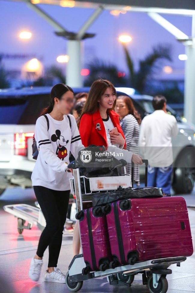 Ngọc Trinh xinh đẹp xuất hiện ở sân bay, sang Mỹ thăm người tình tỷ phú? - Ảnh 3.