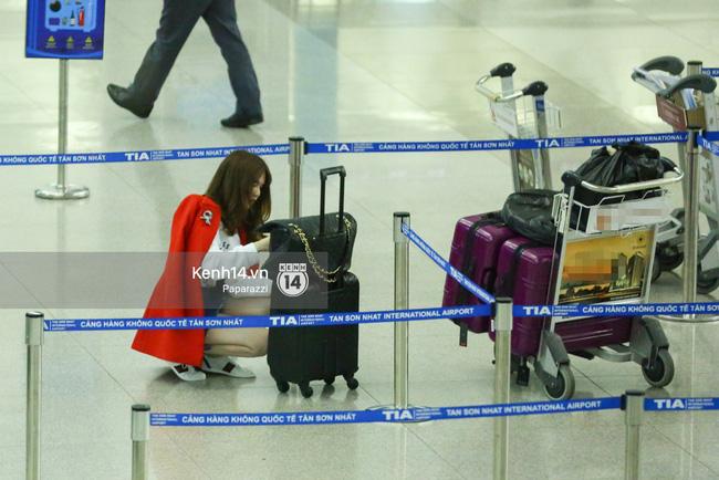 Ngọc Trinh xinh đẹp xuất hiện ở sân bay, sang Mỹ thăm người tình tỷ phú? - Ảnh 8.
