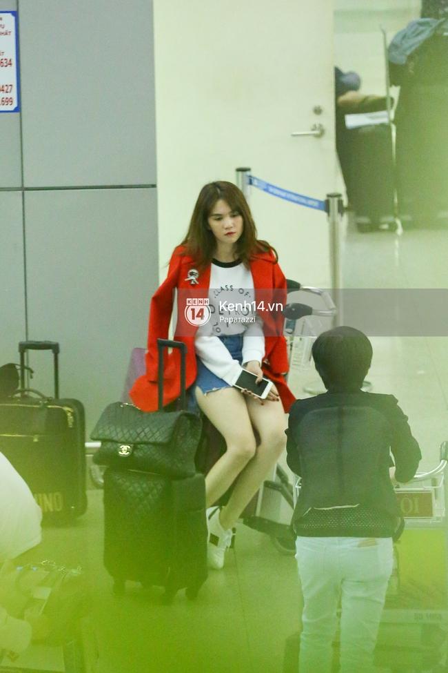 Ngọc Trinh xinh đẹp xuất hiện ở sân bay, sang Mỹ thăm người tình tỷ phú? - Ảnh 10.