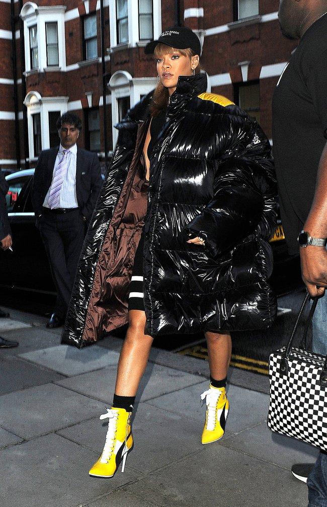 G-Dragon & Rihanna cùng có mùa đông không lạnh với mốt áo phao khổng lồ - Ảnh 4.