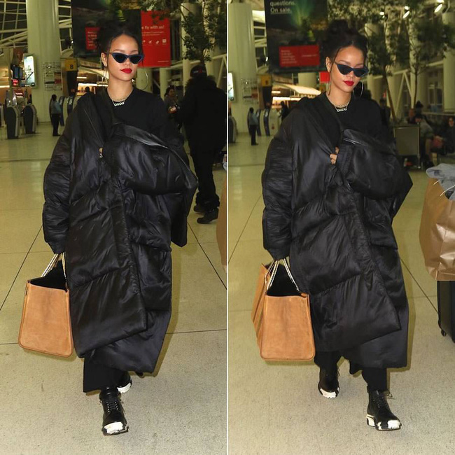 G-Dragon & Rihanna cùng có mùa đông không lạnh với mốt áo phao khổng lồ - Ảnh 5.