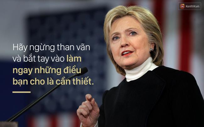 Những câu nói truyền cảm hứng của Hillary Clinton khiến bạn muốn thay đổi bản thân ngay lập tức