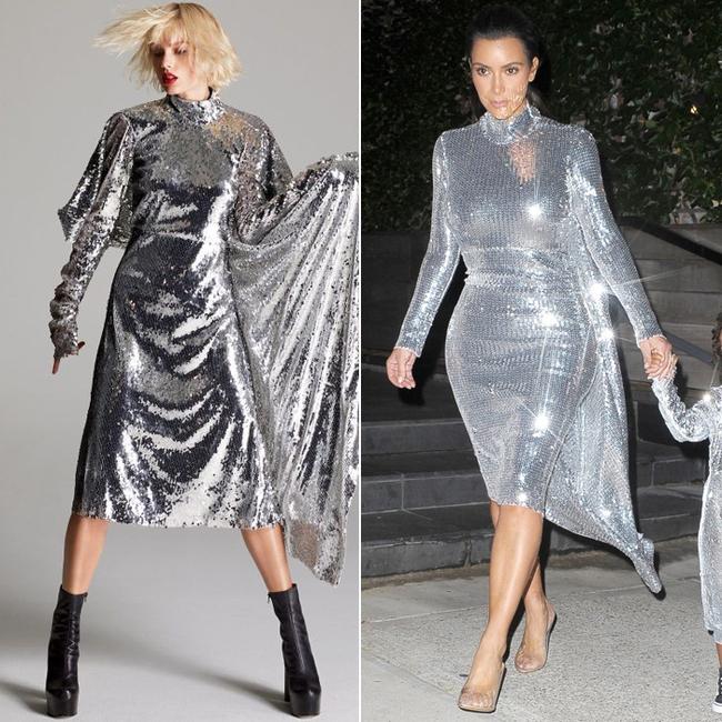 Pha đụng hàng lạ nhất: Cò hương Taylor Swift & Bánh bao Kim Kardashian! - Ảnh 9.