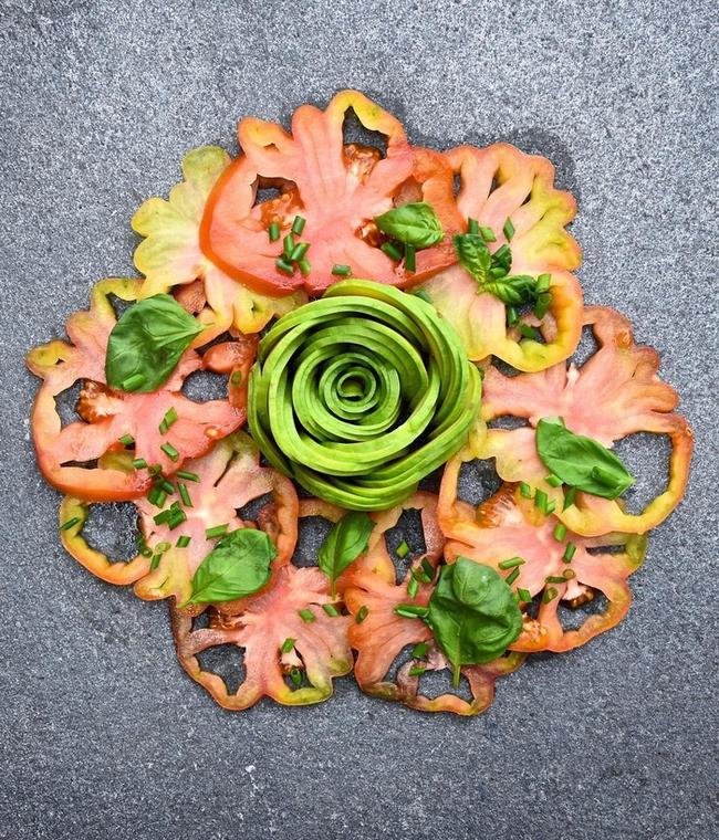 Ngắm những món ăn nghệ thuật được làm từ quả bơ - Ảnh 14.