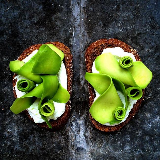 Ngắm những món ăn nghệ thuật được làm từ quả bơ - Ảnh 8.