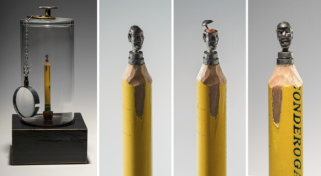 Thật khó tin nhưng đây là những gì được tạo ra từ chính cây bút chì bé tí xíu - Ảnh 7.