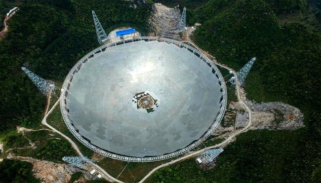 Trung Quốc khánh thành kính viễn vọng săn người ngoài hành tinh lớn nhất thế giới - ảnh 3