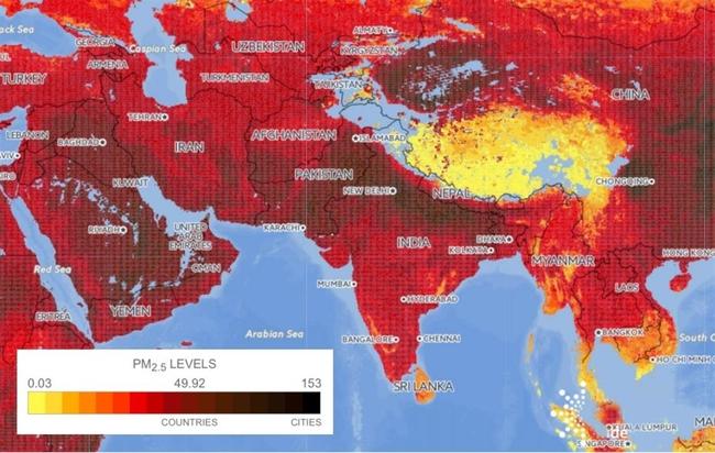Vì sao Việt Nam lại có mặt trong danh sách điểm đen về ô nhiễm không khí trên thế giới? - Ảnh 1.