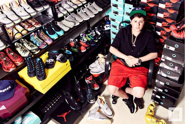 16 tuổi kiếm được hơn 22 tỷ đồng - Chỉ nhờ bán sneaker hiếm mà cậu bé này đã phát tài! - Ảnh 1.